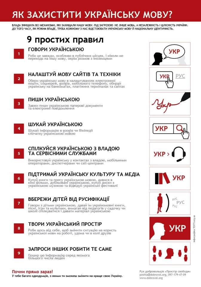 Як захистити українську мову