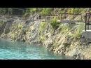 голубые озера.Александровск. прыгаю в воду с вышки
