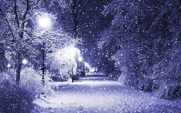 Зима это надежда зима это тихо