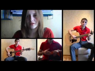 Lera Yaskevich & Ernest Stepanov -- Big Jet Plane (Angus And Julia Stone Cover)