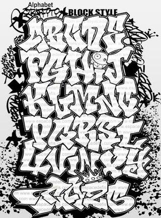 Граффити Тег Шрифты