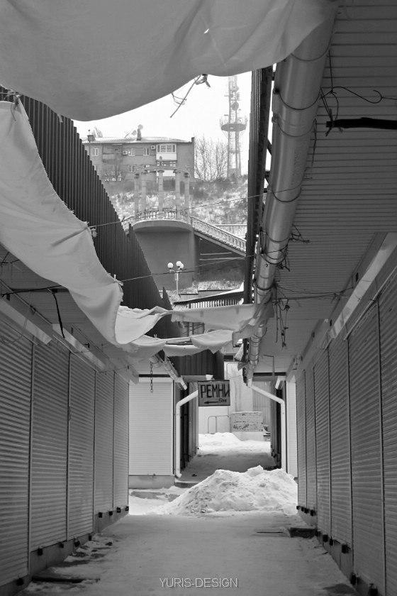 зима в бердянске 2012-2013, вещевой рынок Бердянска