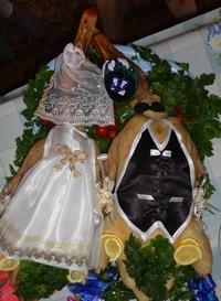 как украсить гуся на свадьбу