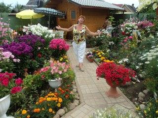 Спешу выразить восхищение садом