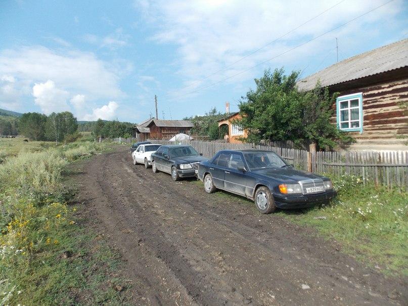 Барнаульский Мерсоклуб в Чарышском районе
