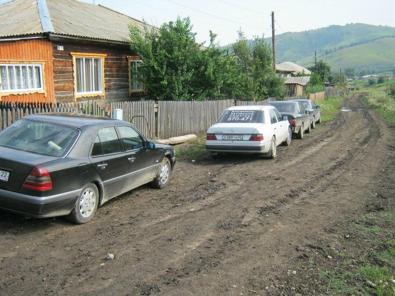 Автомобили Барнаульского Мерсоклуба