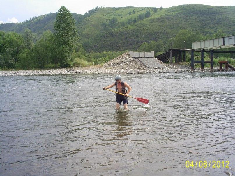 Охота с веслом на рыб!
