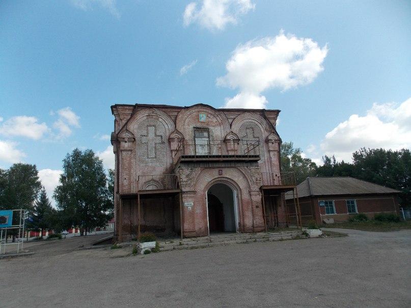 Состояние храма в селе Курья по данным на август 2012 г.
