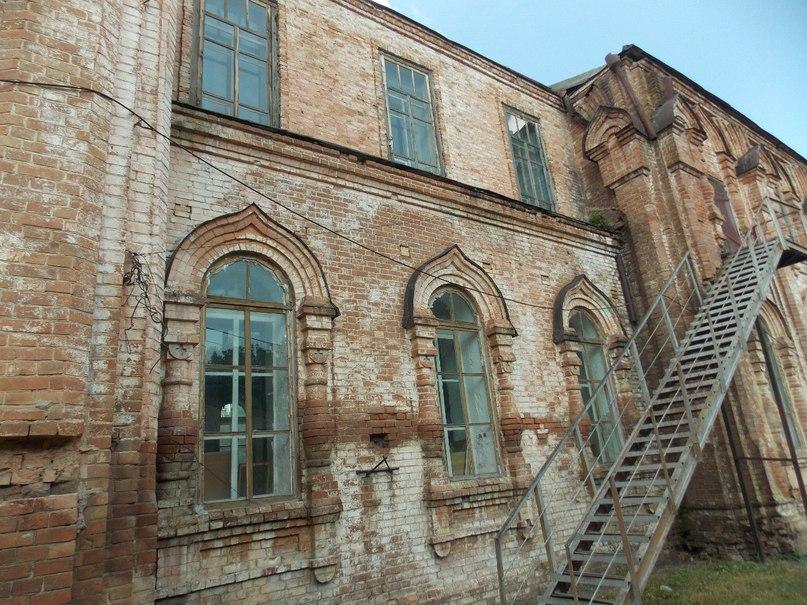 Здание церкви Знамения подготовлено к реставрации