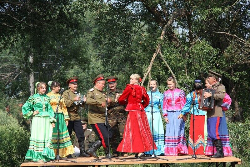 Казачья подкова Алтая - казачий ансамбль Чарышского района
