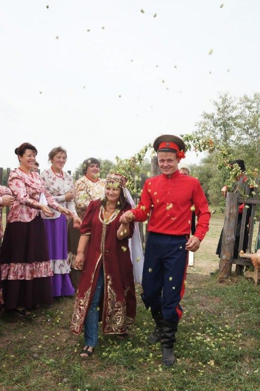 Казачья подкова Алтая - свадьба