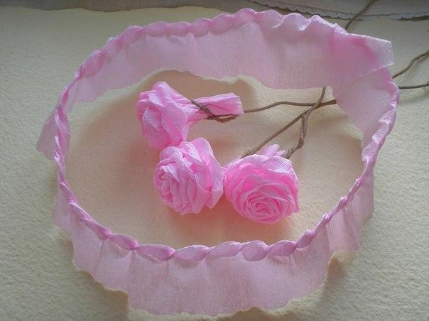 адрес: крученые розы из гофрированной бумаги бритва
