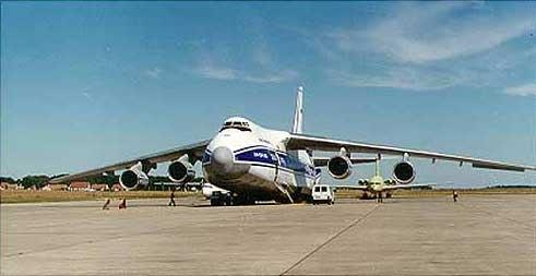 """...и информационных систем -о сотрудничестве в сфере модернизации существующего флота самолётов Ан-124-100  """"Руслан """"."""