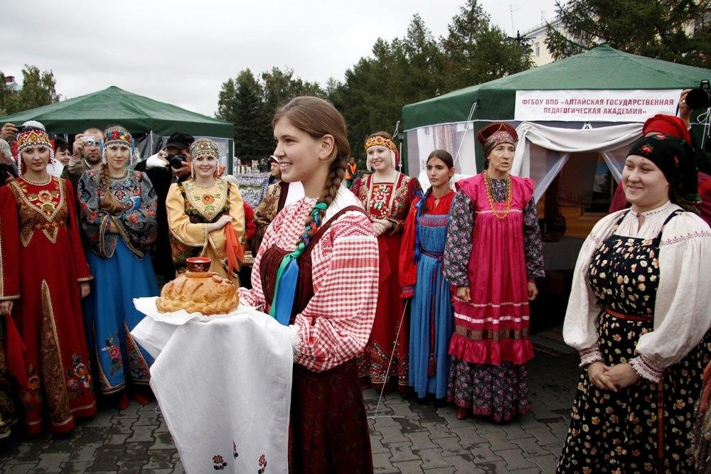 Фестиваль национальных культур. Русский хлеб-соль