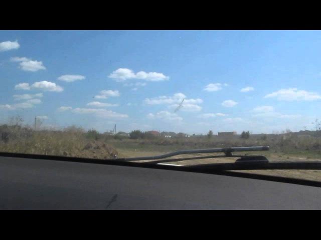 Відео з гоночного боліда, що приймає участь у автокросі (Вінниця)
