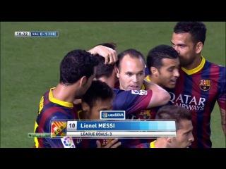 Валенсия - Барселона 2-3 Все Голы