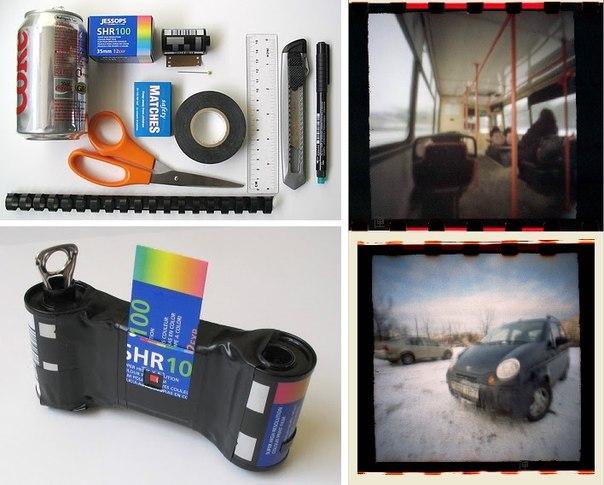 Фотоаппарат из коробки