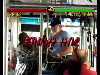 Epic Beard Man - Mortal Kombat style