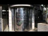 長崎のハイテクすぎる公衆便所のハイテクすぎる入り口