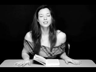 Это видео про то, как порноактрисы читают книги с вибратором внутри) классно вообще)