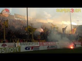 ARIS vs Asteras Tripolis 5-1 || Earthquake in Thessaloniki (14.04.2013)