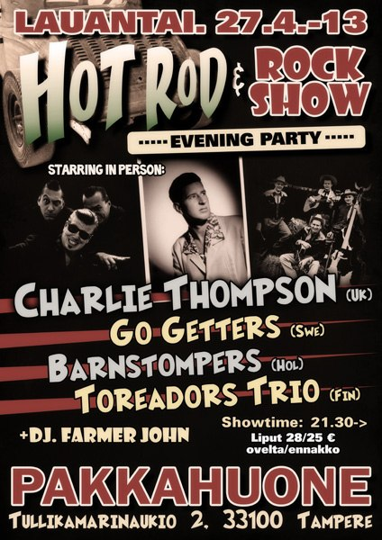 27.04 HOT ROD & ROCK SHOW EVENING PARTY