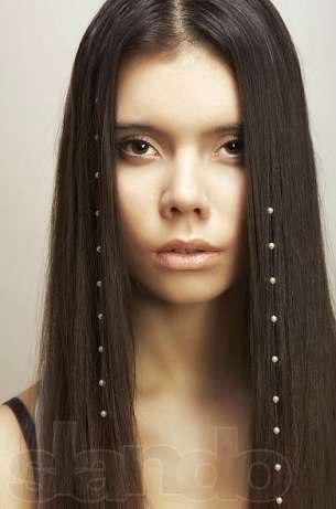 купить стразы на леске для волос