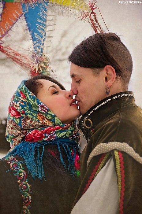 Козак і українка