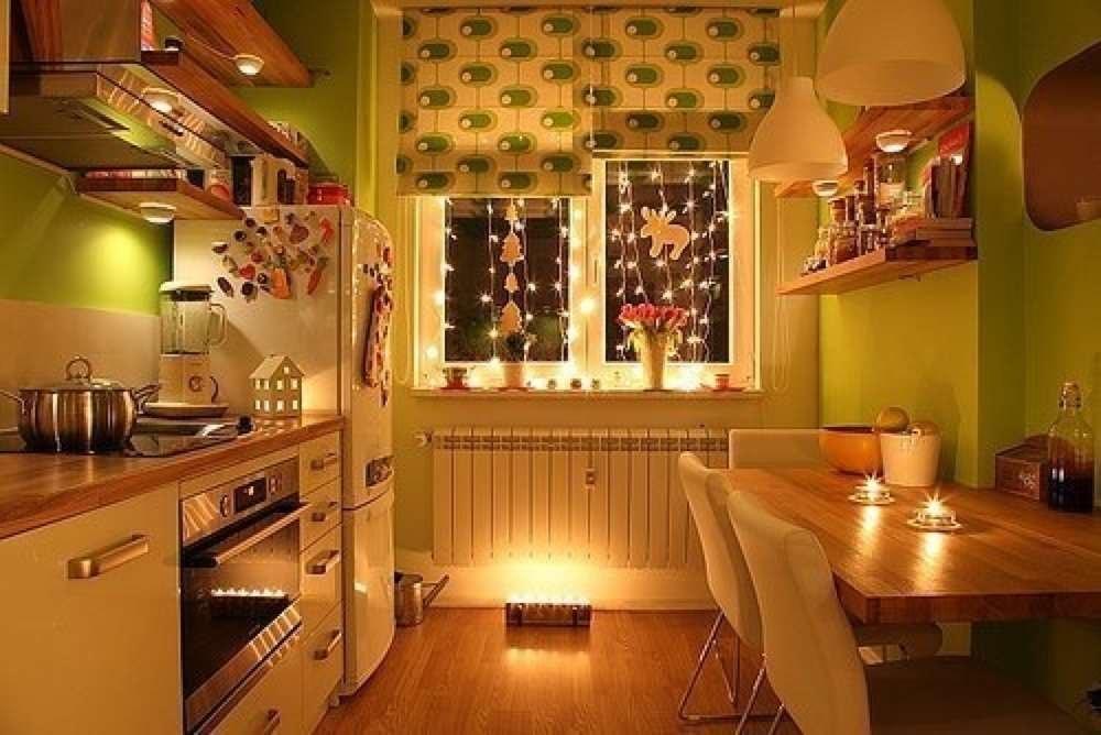 Как сделать кухню уютной своими руками с