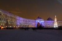 "Схема вышивки  ""Петербург зимой "": таблица цветов."