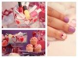Cup Cake Nail Art Tutorial