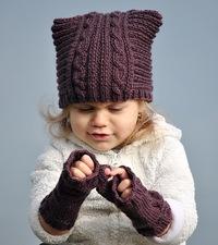 шапки женские вязаные зима 2015-2016 фото