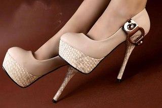Очень Красивые Туфли На Высоком Каблуке