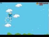 Игра Время Приключений прыжки по облакам