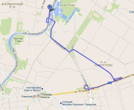 4,2 км, но двигаться будете уж