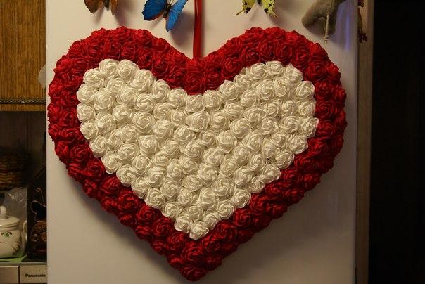 Как сделать сердце поделку