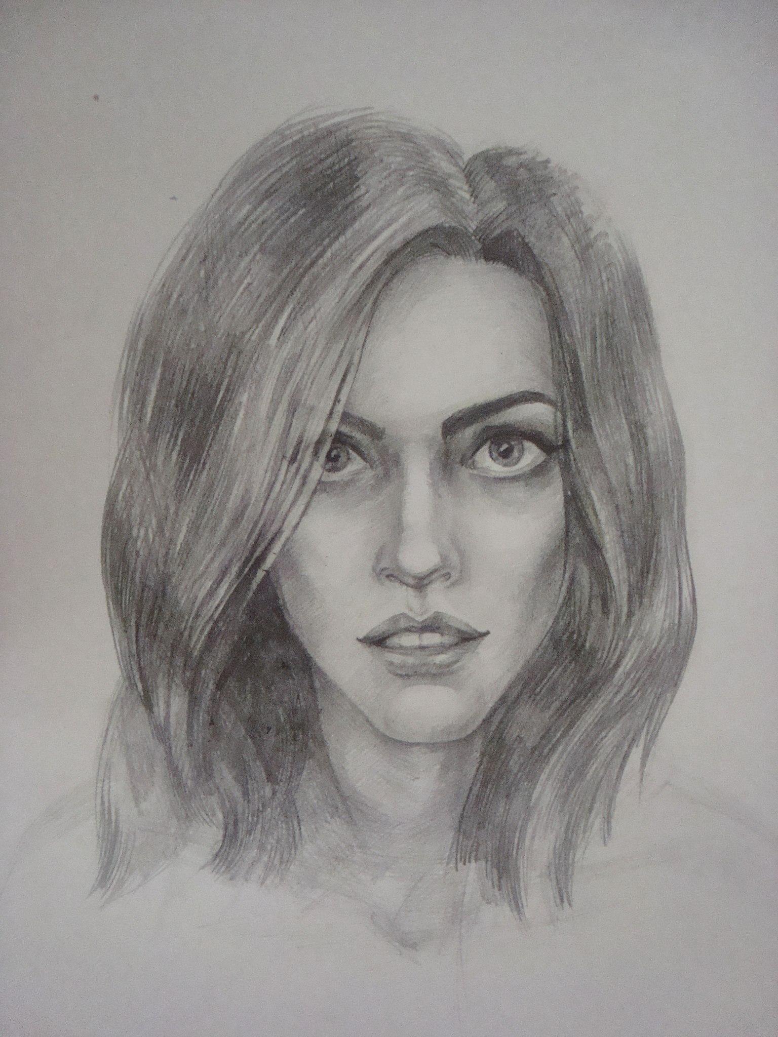 Рисунки человека карандашом 23 фотография