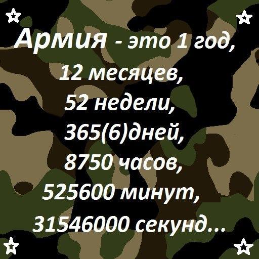 Статусы про армию текст