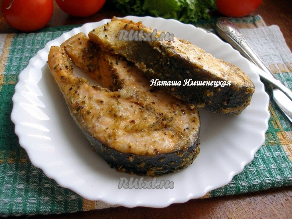 Рецепты из замороженного лосося в духовке