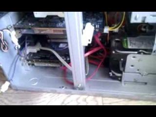 Защита компьютера от пыли своими руками