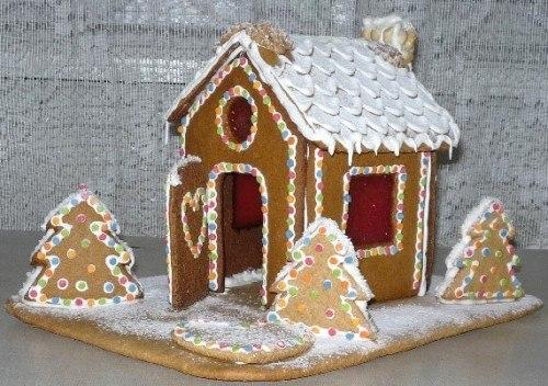 Как сделать сладкий домик из печенья - Санком НН