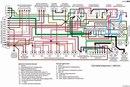 цветная электросхема камаз 43101