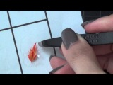 Making your own nail stickers (как сделать стикер на ноготь своими руками)