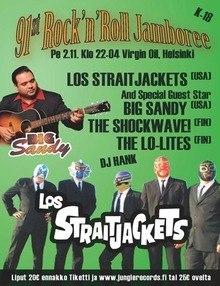 02.11 Rock`n`Roll Jamboree - Virgin Oil, Los Straitjackets (USA), Big Sandy (USA) Хельсинки
