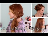 Celtic Braid and 3 Ways to Style It!