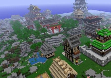 Красивые дома Minecraft
