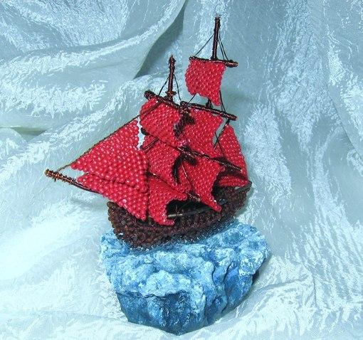 Плетем корабль по схеме