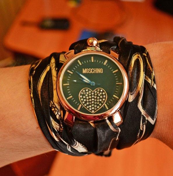Часы на платке