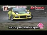 大人気D1ドリフト レディースリーグ2013 Rd.2 single Extreme popularity D1 ladies league
