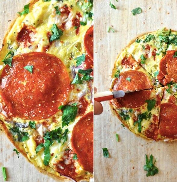 Пицца-омлет